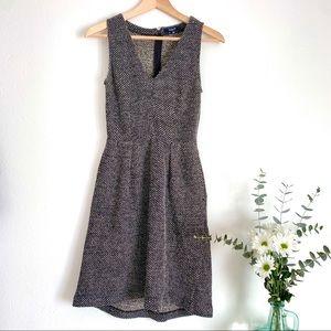 Madewell Knit Twill Terrace Sleeveless Dress XS